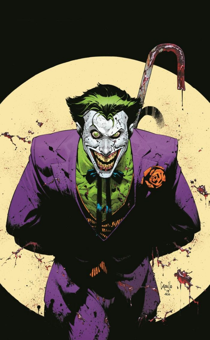 Joker 80th Anniversary Comic Cover