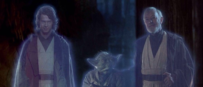 Anakin Skywalker As A Force Ghost