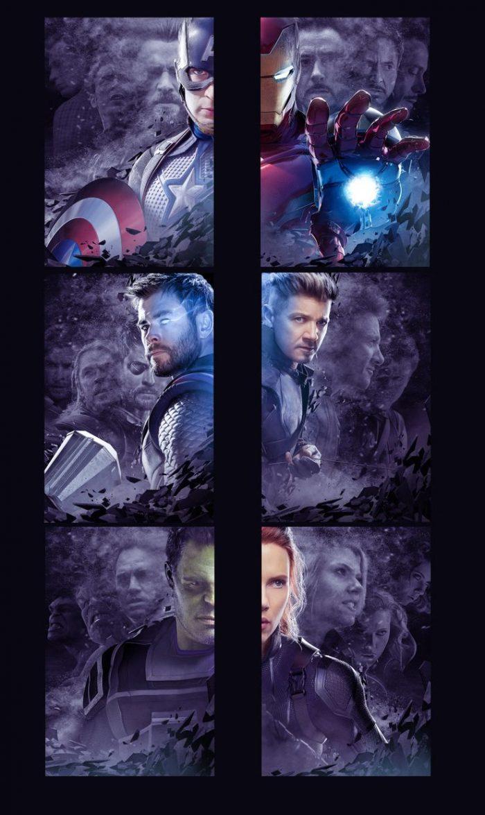 Boss Logic - Avengers: Endgame Character Posters