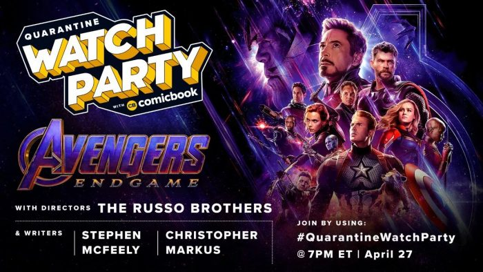 Avengers: Endgame Watch Party