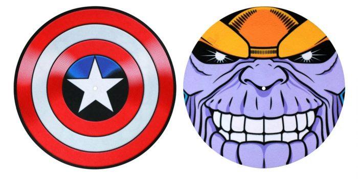 Avengers Record Slipmat