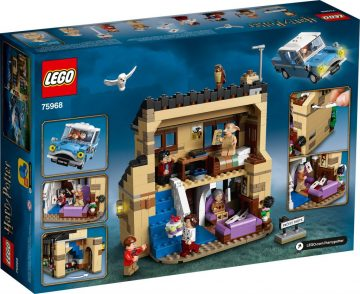 New Harry Potter LEGO Sets - 4 Privet Drive