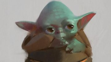 The Mandalorian - Baby Yoda Alternate Designs Concept Art