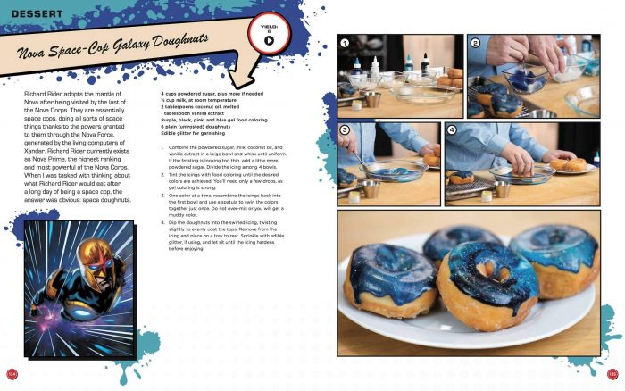 Marvel Eat the Universe Cook Book - Nova Donuts
