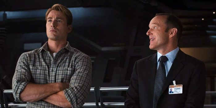 Avengers - Agent Coulson and Cap