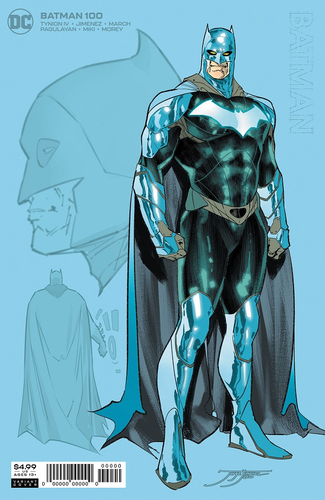Batman Issue #100 New Suit