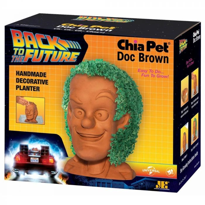 Back to the Future Doc Brown Chia Pet
