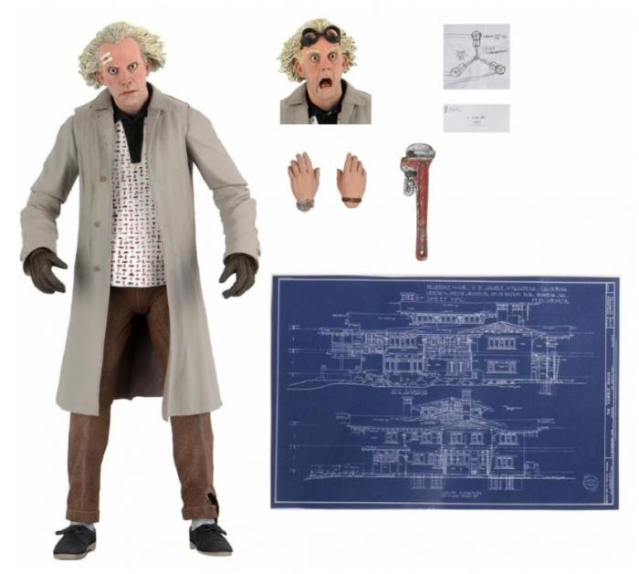 NECA's Back to the Future Doc Brown Action Figure