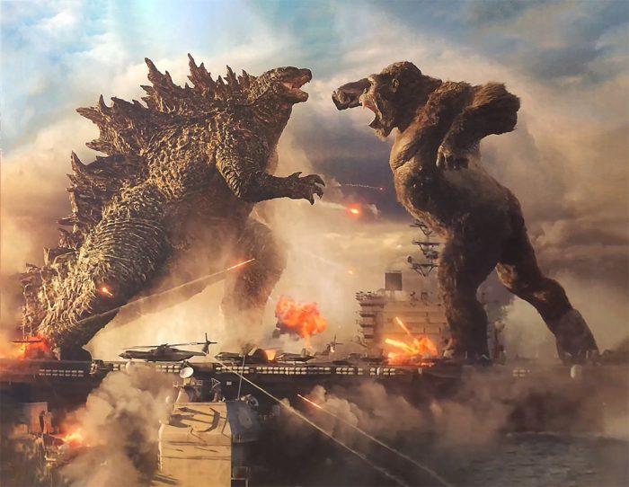 Godzilla vs Kong First Look Photo