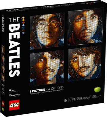 LEGO Art Portraits