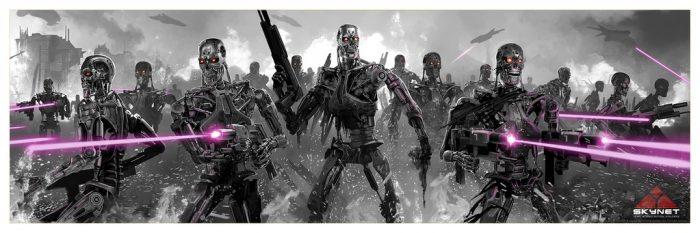 Pablo Olivera Terminator Prints
