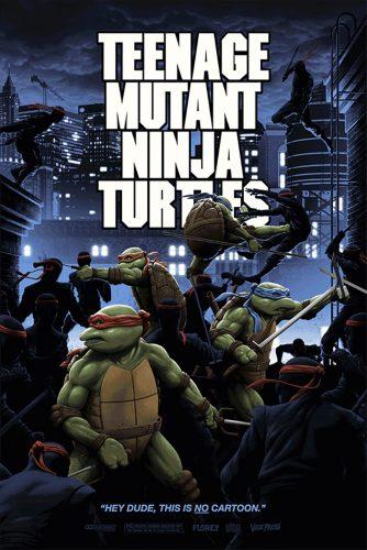 Florey Teenage Mutant Ninja Turtles Poster