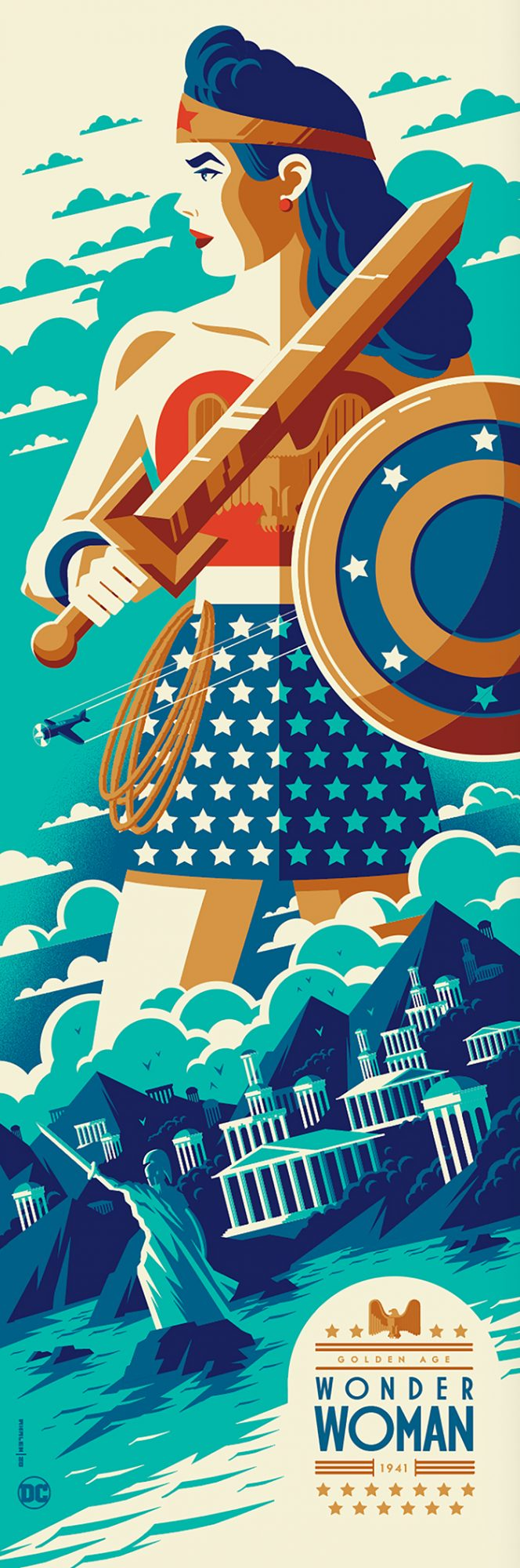Golden Age: Wonder Woman - Tom Whalen (Variant)