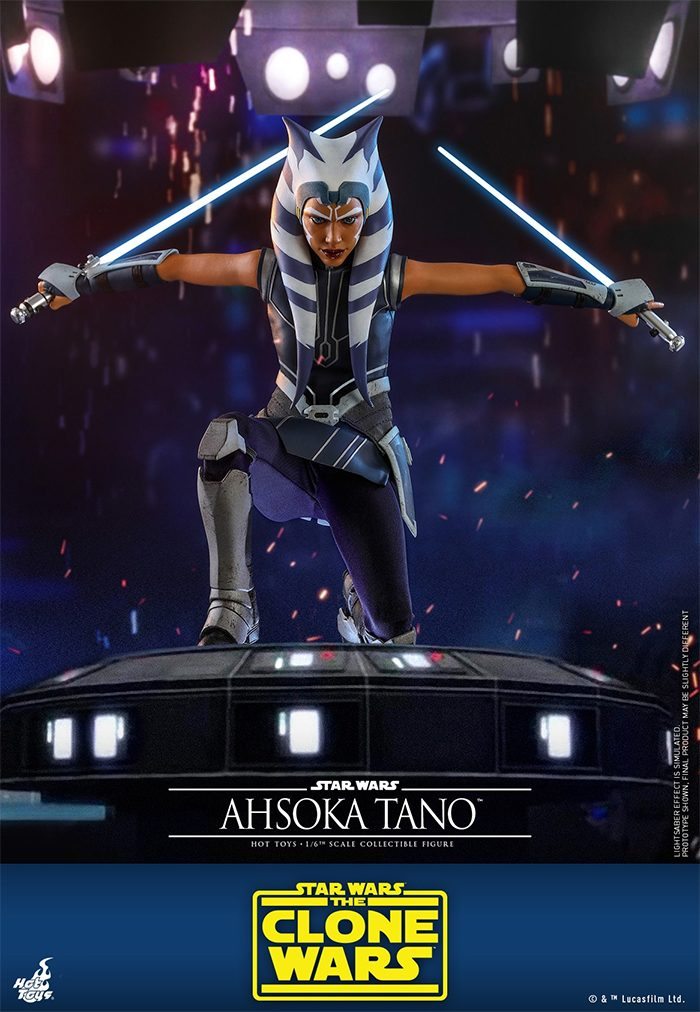 Clone Wars - Ahsoka Tano Hot Toys Figure