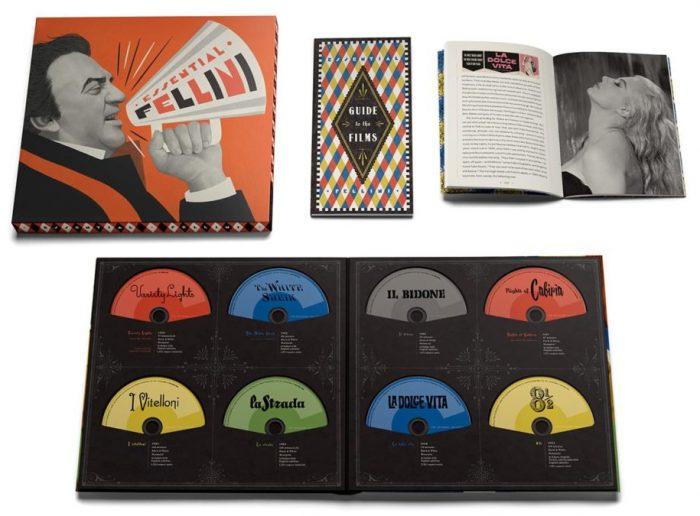 Criterion Collection Federico Fellini Box Set