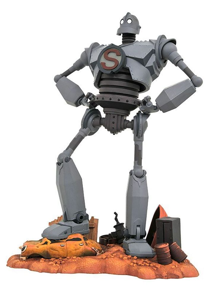 The Iron Giant Action Figure and Sculpture