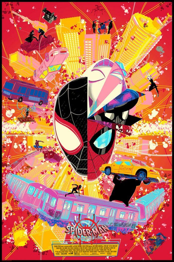 Raid71 Spider-Man: Into the Spider-Verse Print