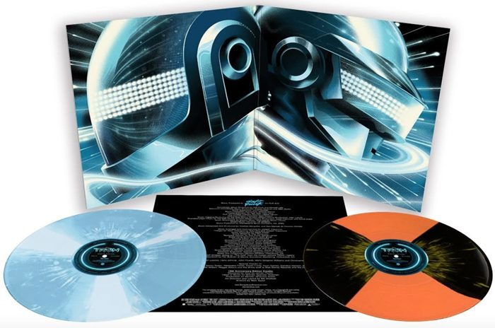 Tron Legacy vinyl Mondo back