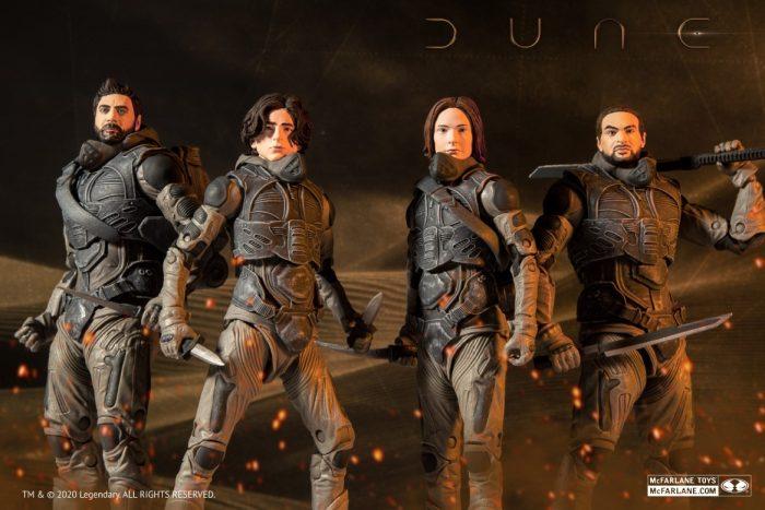 2020 Dune Action Figures
