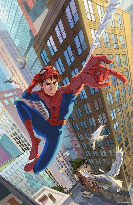 Marvel Action - Spider-Man Artwork
