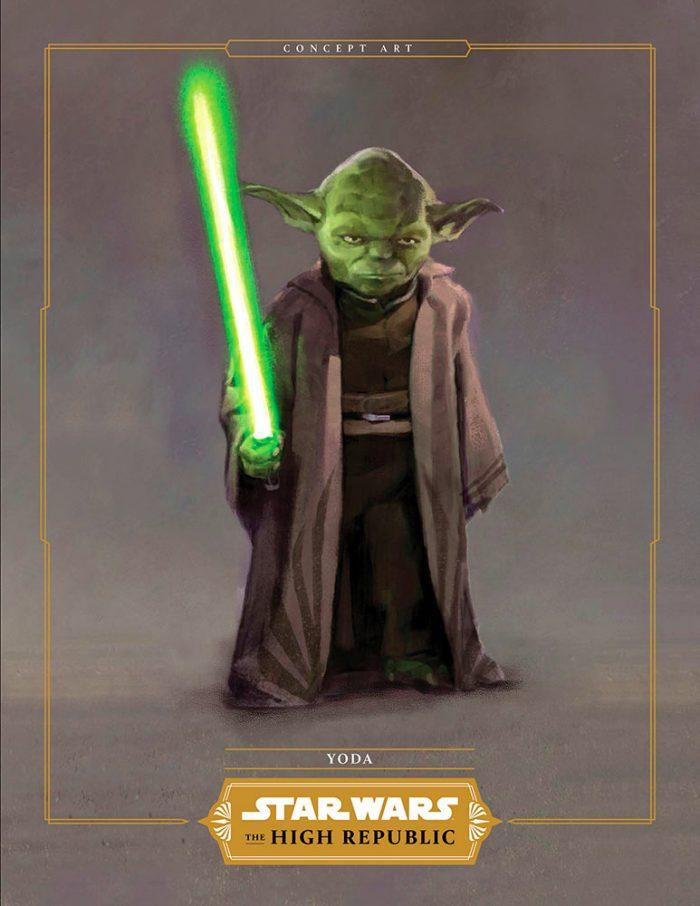 Star Wars: The High Republic Yoda Concept Art
