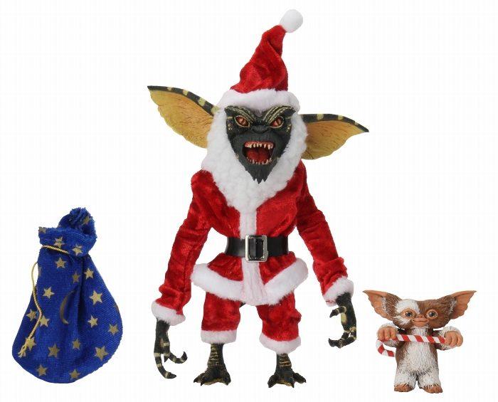 NECA Gremlins Santa Stripe and Gizmo Action Figures