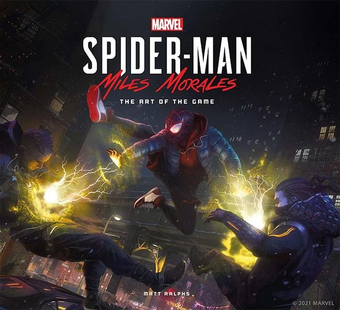 The Art of Spider-Man: Miles Morales