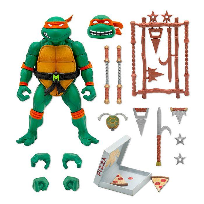 Super7 Teenage Mutant Ninja Turtles Ultimates Action Figures